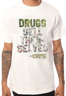 564 Drug $ale White Tee