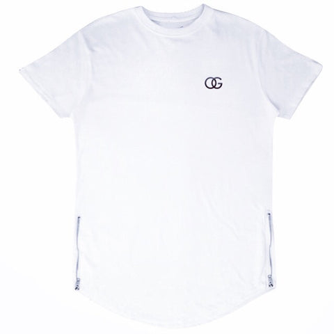577 OG 3D White Scallop Tee