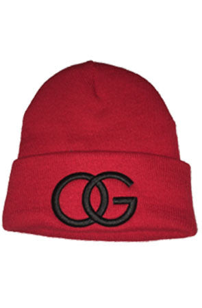 617 Red/Black OG Beanie