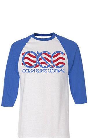 555 OGC Independence Day Baseball Tee