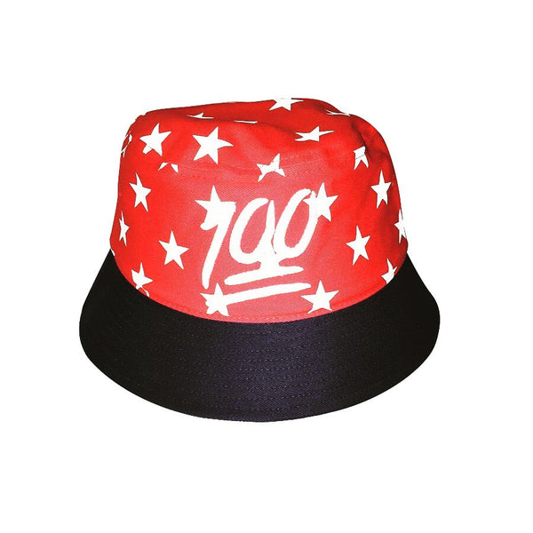 625 Keep It 1Hunnid 4th Of July Bucket Hat