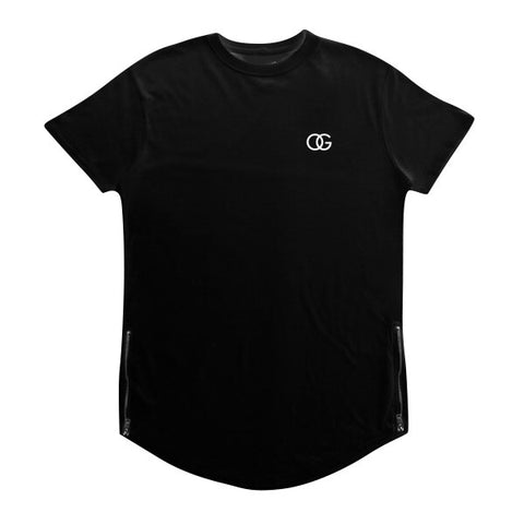 578 OG 3D Black Scallop Tee