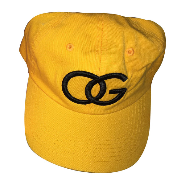 156 OG Yellow Strapback Dad Hat (Polo Style)