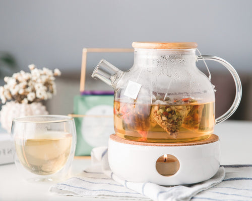 Medium Glass Teapot