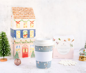 Christmas Tower - Assorted Blends + Carry Cup