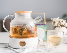 Teapot and warmer set