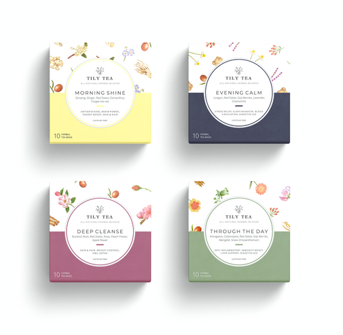 TILY TEA Gift Box - Tily Tea
