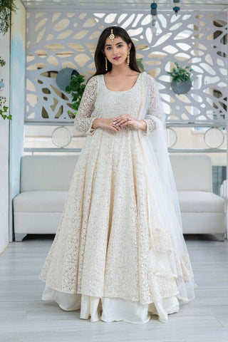Anarkali Suit with Skirt