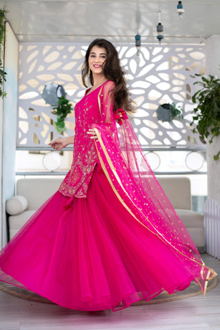 Pink Traditional Dress