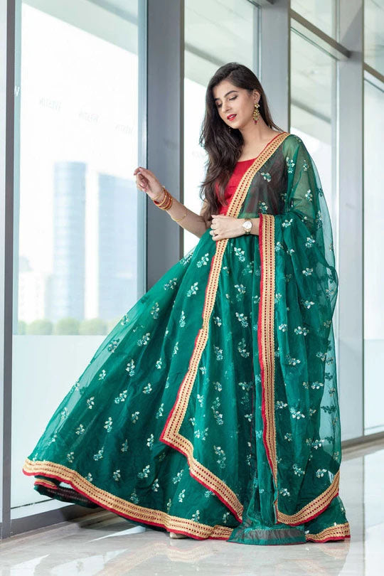 Turn It Up In A Simple Lehenga For Party