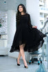 Black Georgette Dress