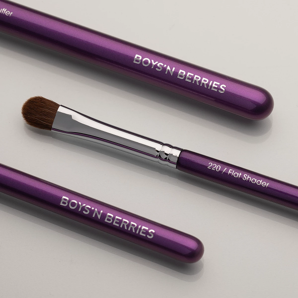 Flat Shader Eye Brush, Brush, Boys'n Berries