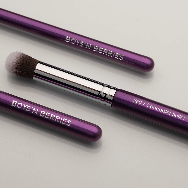 Concealer Buffer Face & Eye  Brush, Brush, Boys'n Berries