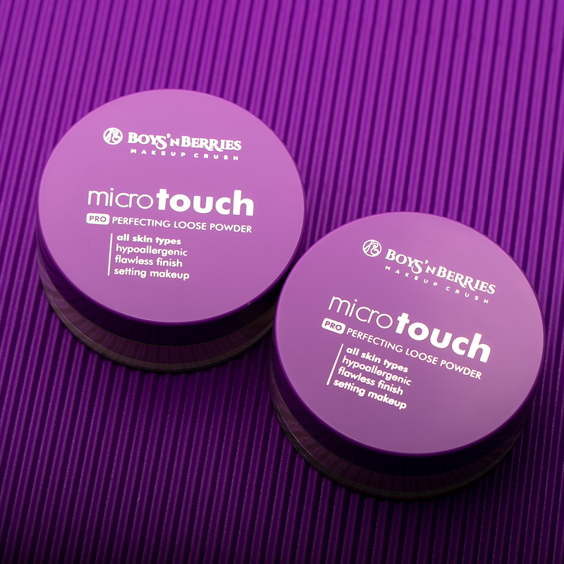MicroTouch Perfecting Loose Powder Ivory, Loose Face Powder, Boys'n Berries