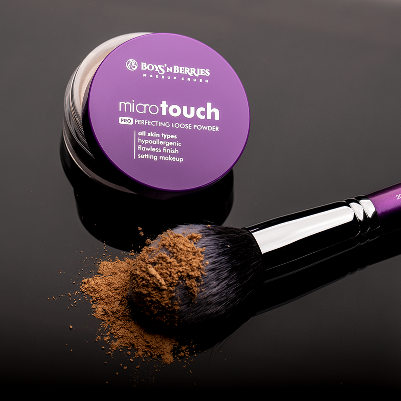 MicroTouch Perfecting Loose Powder Summer Beige, Loose Face Powder, Boys'n Berries