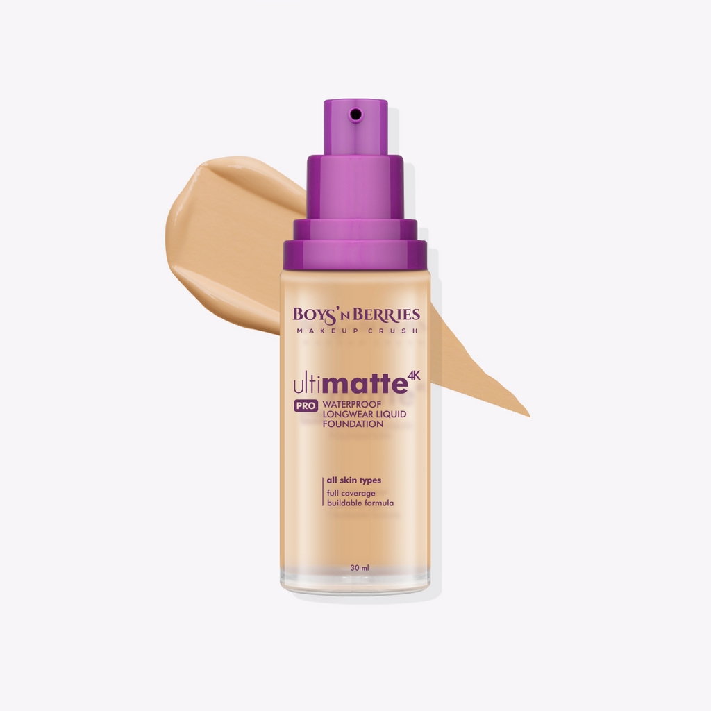 Ultimatte 4K PRO Liquid Foundation Beige, Liquid Foundation, Boys'n Berries