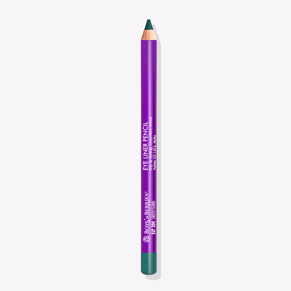Pro Eye Liner Pencil Green Island, Eye Liner Pencil, Boys'n Berries