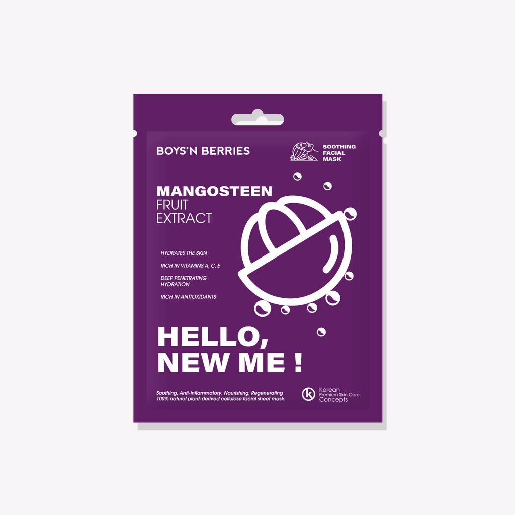 Hello, New Me! Mangosteen Mask, Face Mask, Boys'n Berries