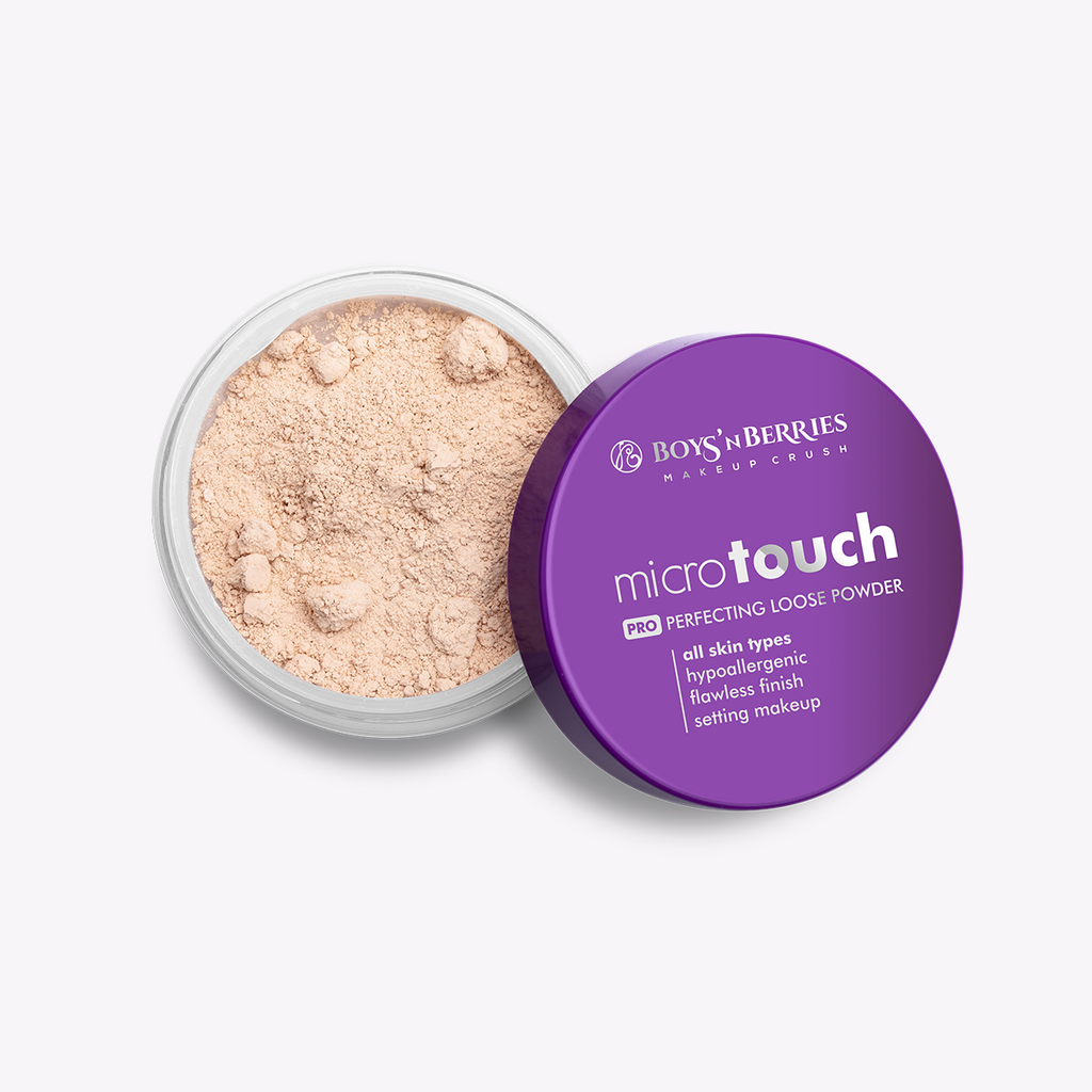 MicroTouch Perfecting Loose Powder Nude, Loose Face Powder, Boys'n Berries