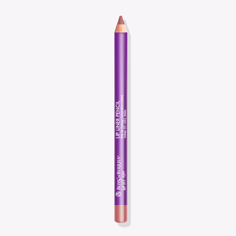 Pro Lip Liner Pencil Poppy, Lip Liner Pencil, Boys'n Berries