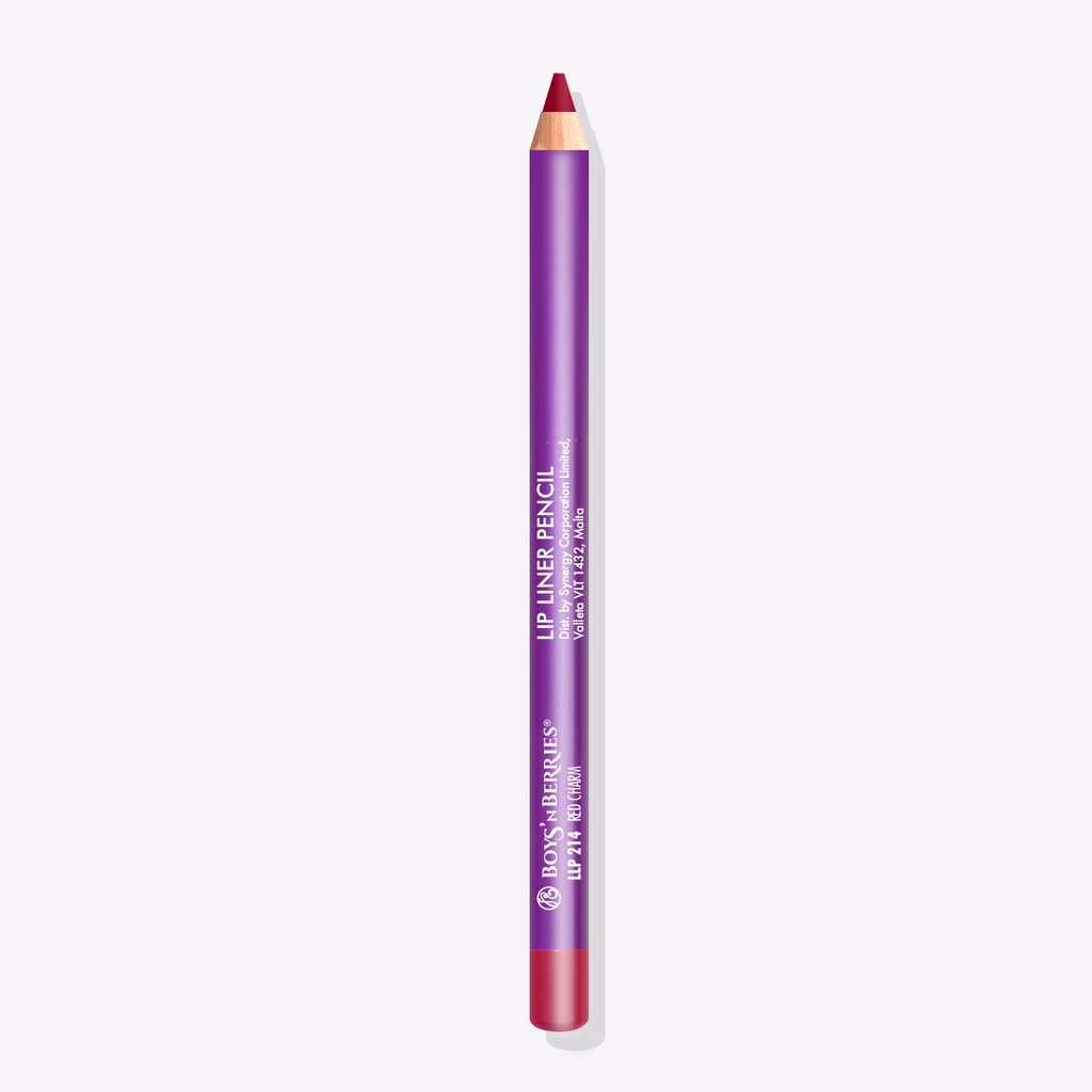 Pro Lip Liner Pencil Red Charm, Lip Liner Pencil, Boys'n Berries
