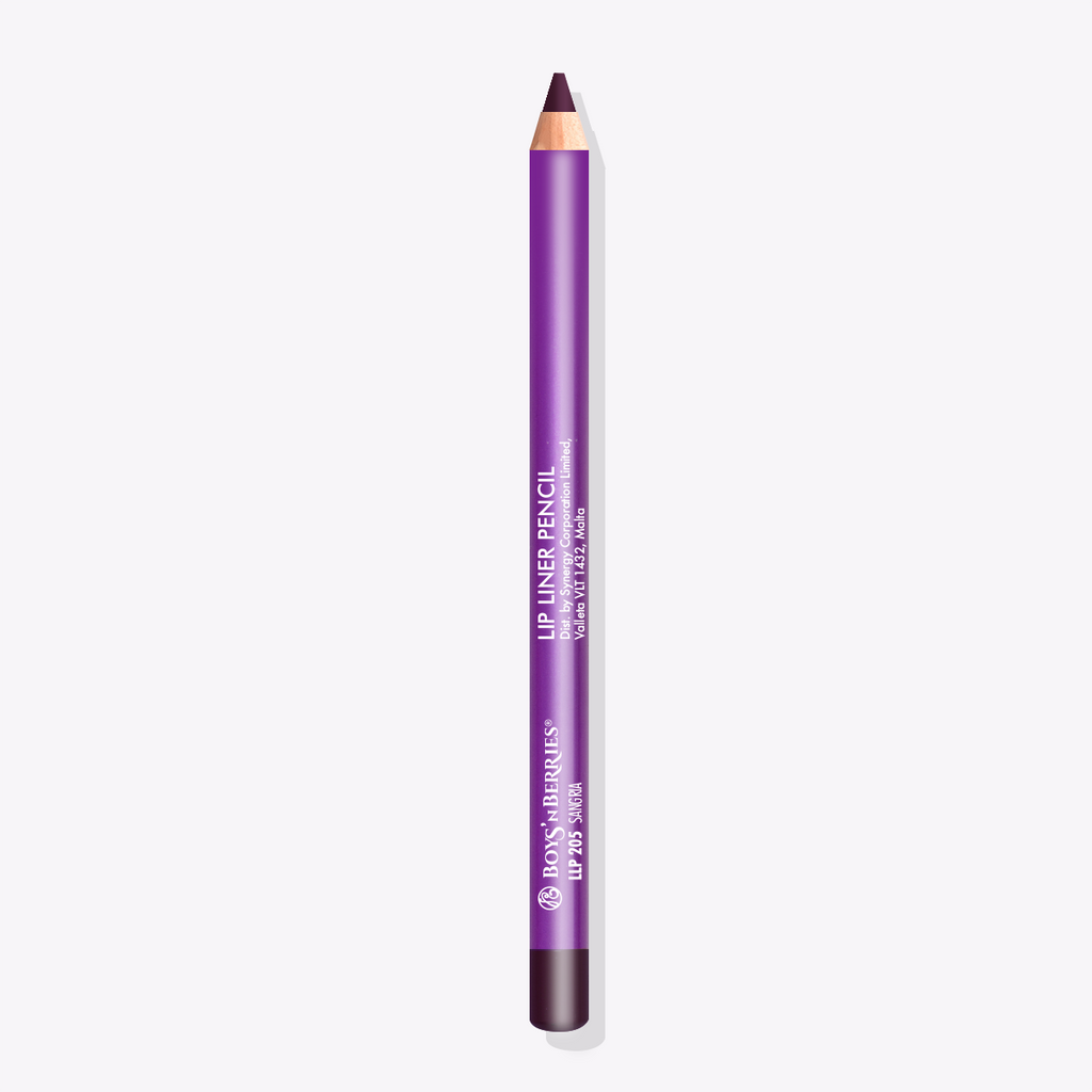 Pro Lip Liner Pencil Sangria, Lip Liner Pencil, Boys'n Berries