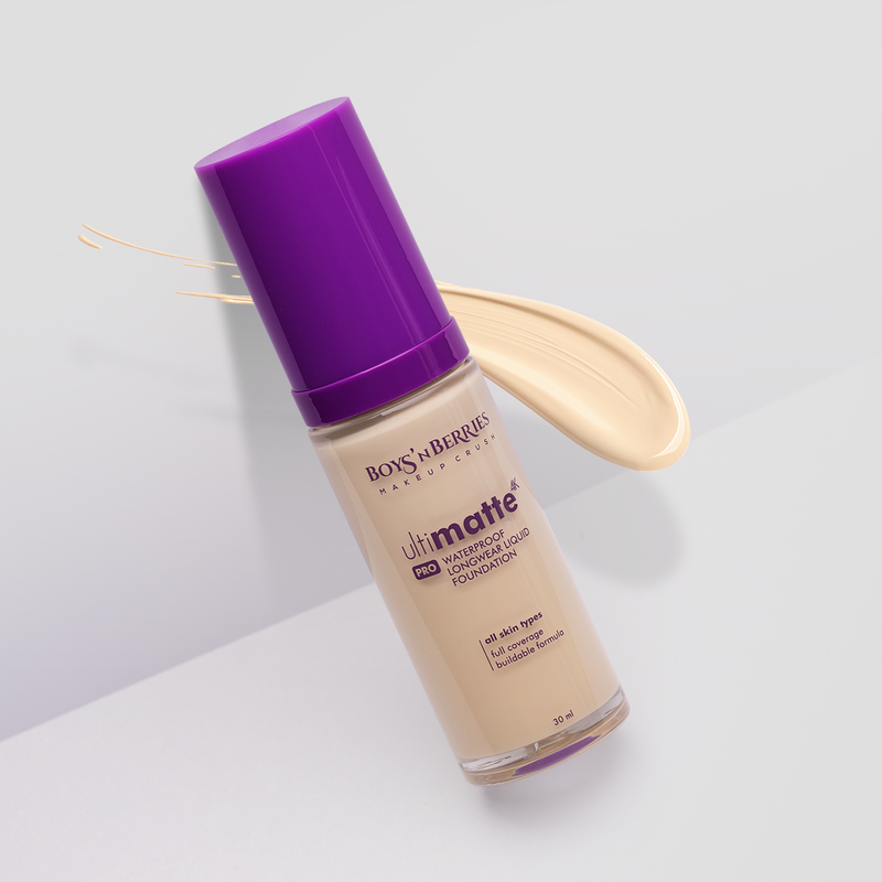 Ultimatte 4K PRO Liquid Foundation Fair, Liquid Foundation, Boys'n Berries