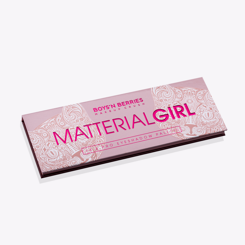 14K Pro Eyeshadow Palette Matterial Girl, Eyeshadow Palette, Boys'n Berries