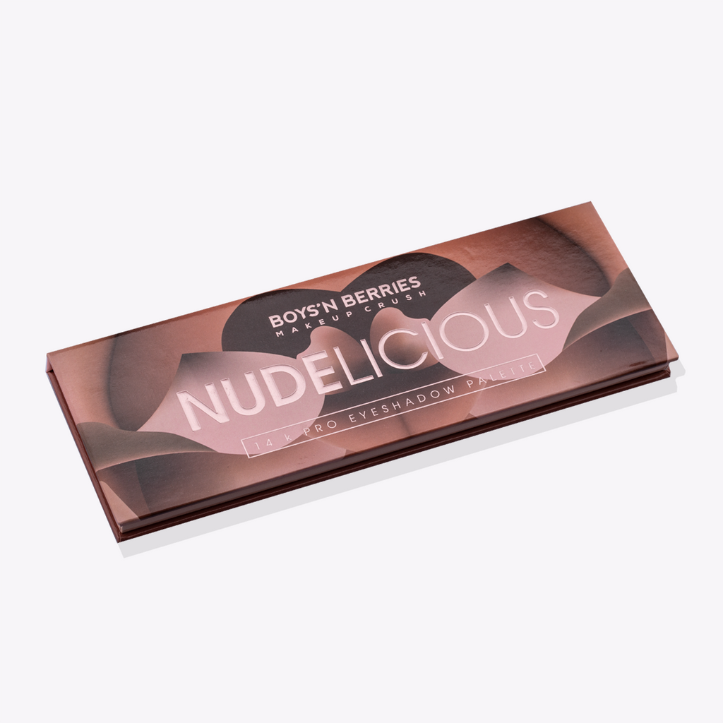 14K Pro Eyeshadow Palette Nudelicious, Eyeshadow Palette, Boys'n Berries