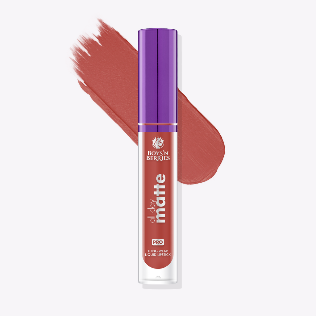 All Day Matte Liquid Lipstick Silhouette, Liquid Lipstick, Boys'n Berries