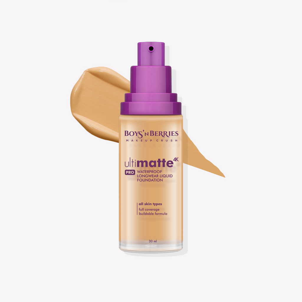 Ultimatte 4K PRO Liquid Foundation Summer Beige, Liquid Foundation, Boys'n Berries