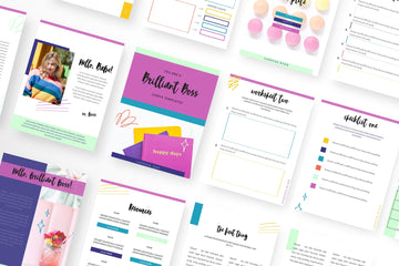 Brilliant Boss Canva Template Bundle of 40