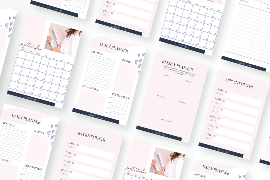 Lady Coach Canva Toolbox with 70 Templates