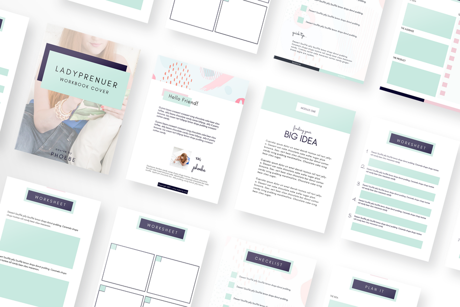 Ladyprenuer Canva Template Bundle of 20