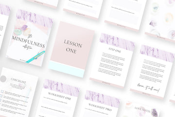 Mindfulness Canva Template Bundle of 20