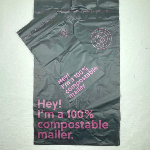 photo of compostable mailer