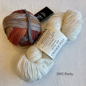 On The Spice Market (Zauberball version) Knitting Kit | Elemental Affects Cormo & Zauberball Crazy