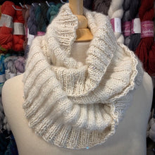 Load image into Gallery viewer, Artyarns Ensemble & Tanglewood Ribbed Cowl Knitting Kit | Artyarns Ensemble, Tanglewood, & Knitting Pattern (#296B)