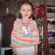 Load image into Gallery viewer, Children's Capelet Knitting Kit | Shepherd Bulky & Knitting Pattern (#001)
