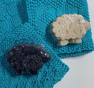 Handcrafted Sheep Soaps from Tanglewood