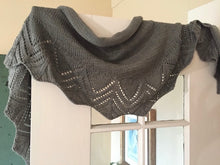 Load image into Gallery viewer, Deco Shawlette (YOTH version) Knitting Kit | YOTH Big Sister & Knitting Pattern (#324)