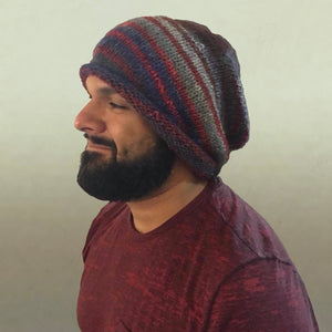 Noro Slouchy Hat Knitting Kit | Noro Silk Garden & Knitting Pattern (#210)