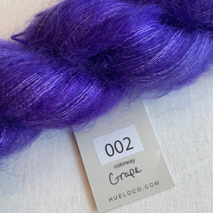 emPower People | Hue Loco Mohair Lace in Grape