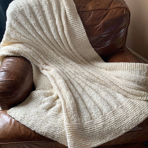 Nomad Throw Knitting Kit | Berroco Nomad & Knitting Pattern (#369)