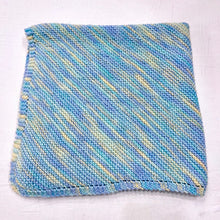 Load image into Gallery viewer, Diagonal Baby Blanket (Lorna's version) Knitting Kit | Lorna's Laces Shepherd Worsted & Knitting Pattern (#086)