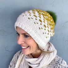 Load image into Gallery viewer, Mika Hat Knitting Kit | Berroco Catena & Knitting Pattern