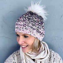 Load image into Gallery viewer, Fadient Hat Knitting Kit | MollyGirl Rock Star DK