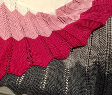 Load image into Gallery viewer, Chevron Baby Blanket Knitting Kit | Ultra Pima Cotton & Knitting Pattern (#323)