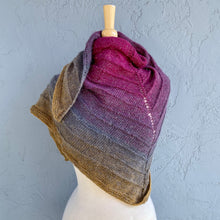 Load image into Gallery viewer, Boneyard Shawl Knitting Kit | Trendsetter Knits Paradigm