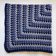 Load image into Gallery viewer, Granny Square Baby Blanket (Cascade version) Crochet Kit | Ultra Pima Cotton & Crochet Pattern (#159)
